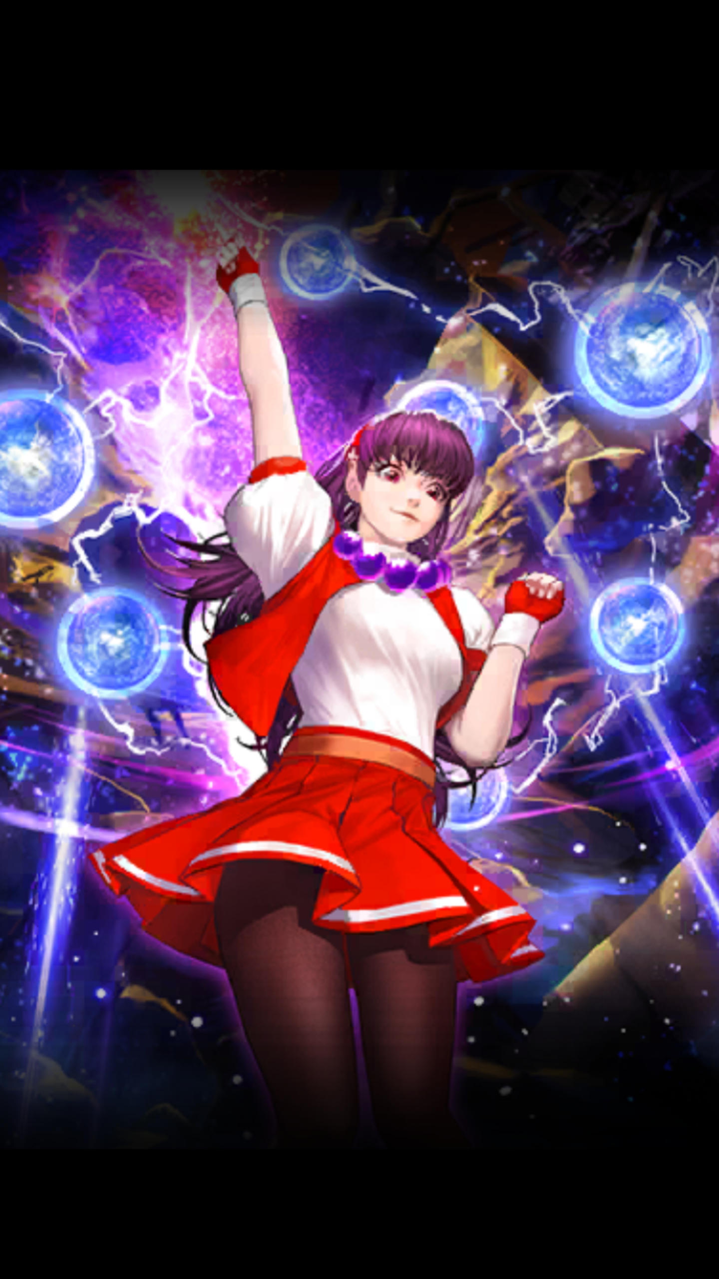 Athena Asamiya 97 The King Of Fighters All Star X