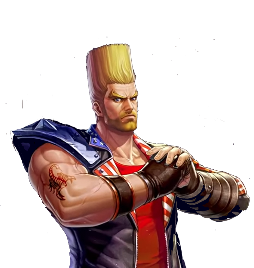 Paul Phoenix All Star The King Of Fighters All Star X