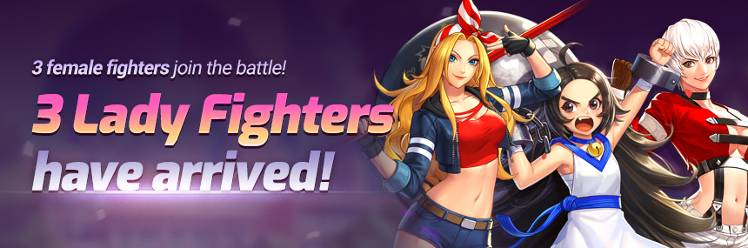 3 Lady Fighters is here [Lady Yashiro, Billy Kane and Chang Koehan]