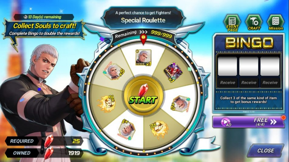 Lucky Roulette Event! – '98 Yashiro!