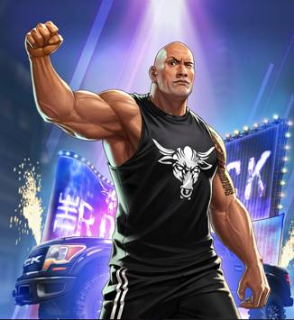WWE Collaboration Super Mission Event! Get The People's Champion The Rock!